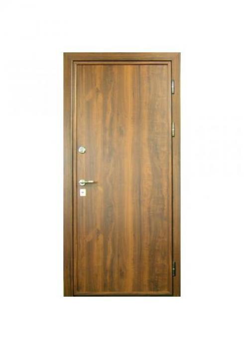 Вландр, Входная стальная дверь с отделкой ламинатом 3