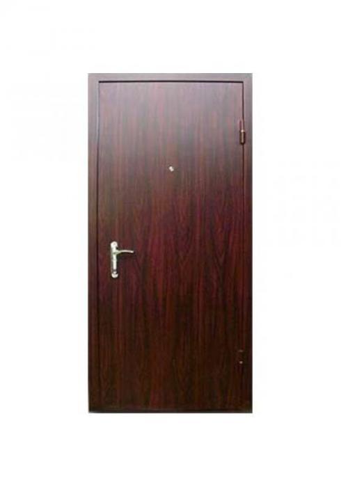 Вландр, Входная стальная дверь с отделкой ламинатом 42л