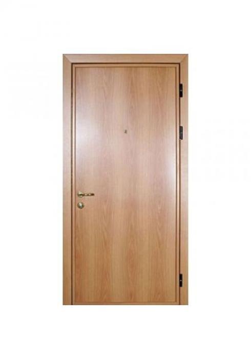Вландр, Входная стальная дверь с отделкой ламинатом 4л