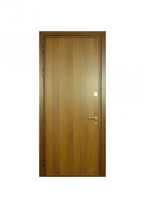 Вландр, Входная стальная дверь с отделкой ламинатом 8л