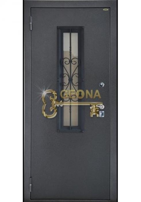 Geona, Входная стальная дверь со стеклопакетом