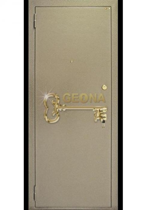 Geona, Входная стальная дверь Стандарт - наружная сторона