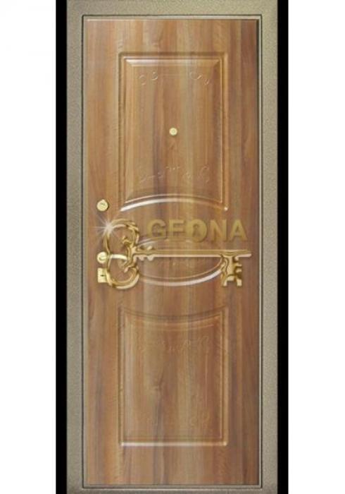Geona, Входная стальная дверь Стандарт - внутренняя сторона