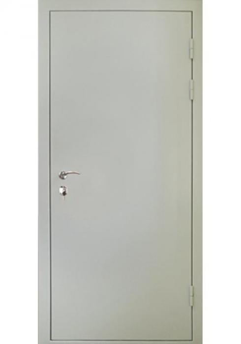 Дверь Сервис, Входная стальная противопожарная дверь - внешняя сторона
