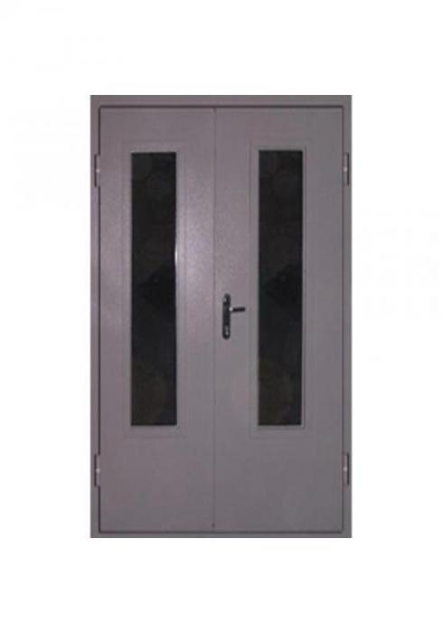 Вландр, Входная техническая  стальная  дверь со стеклопакетами 11